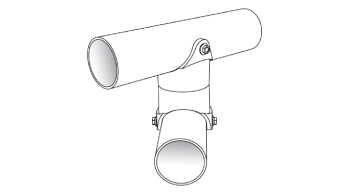 An image of a white Triax part.